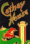 Cathay vintage menu
